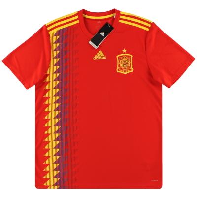 2018-19 Spain adidas Home Shirt *w/tags* XL