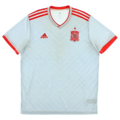 2018-19 Spain Away Shirt L