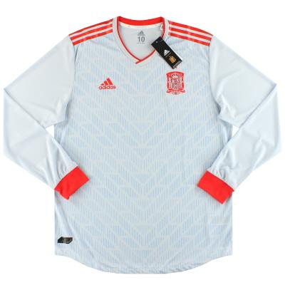 2018-19 Spain adidas Player Issue Away Shirt *BNIB* L/S XL
