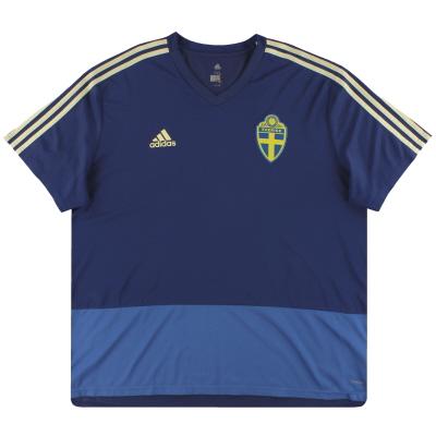 2018-19 Sweden adidas Training Shirt XXL