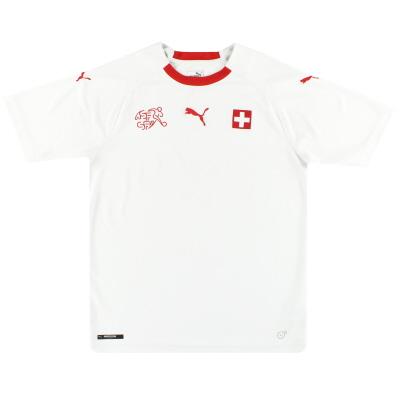 2018-19 Switzerland Puma Away Shirt M