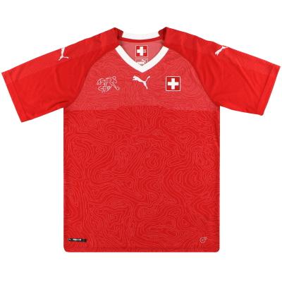 2018-19 Switzerland Puma Home Shirt *Mint* M