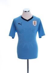 2018-19 Uruguay Home Shirt *Mint* S