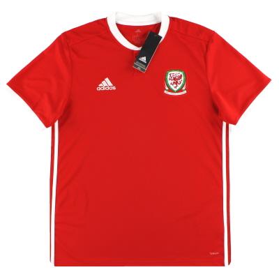 2018-19 Wales adidas Home Shirt *BNIB*