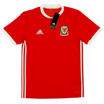 2018-19 Wales Home Shirt *BNIB*