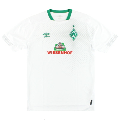 2018-19 Werder Bremen Umbro Third Shirt *As New* L