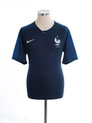 2018 France Home Shirt *Mint* M