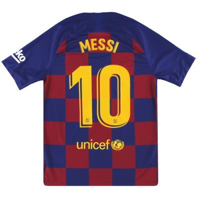 2019-20 Barcelona Nike Home Shirt Messi #10 *w/tags* M