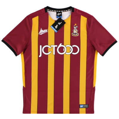 2019-20 Bradford City Avec Home Shirt *BNIB* S