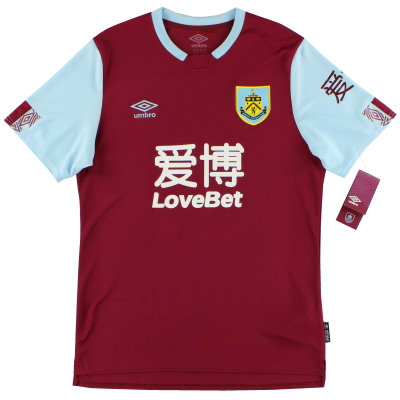 2019-20 Burnley Home Shirt *BNIB*