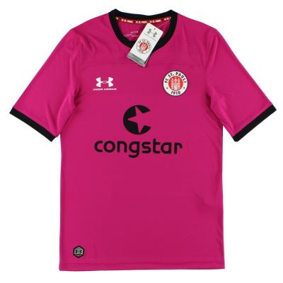 2019-20 FC St. Pauli Pink Goalkeeper Shirt *w/tags* S