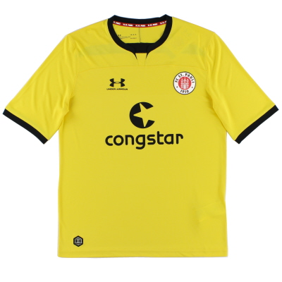 2019-20 FC St. Pauli Yellow Goalkeeper Shirt *As New* XL
