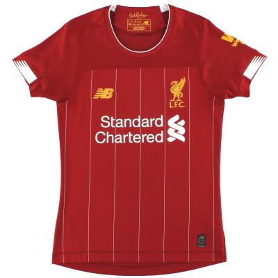 2019-20 Liverpool New Balance Home Shirt Women's 8