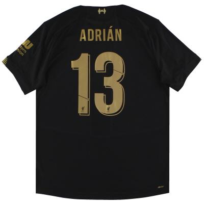 2019-20 Liverpool New Balance Goalkeeper Shirt Adrian #13 XL