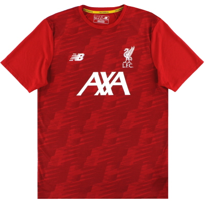 2019-20 Liverpool New Balance Training Shirt *As New* L