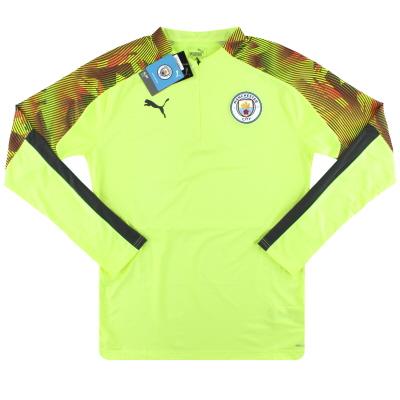 2019-20 Manchester City Puma 1/4 Zip Training Jacket *BNIB* S