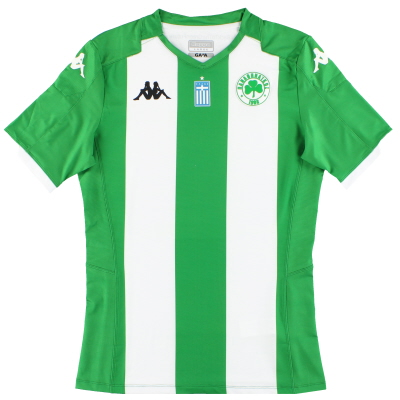 2019-20 Panathinaikos Kappa Kombat Pro Anniversary Home Shirt *As New* Y
