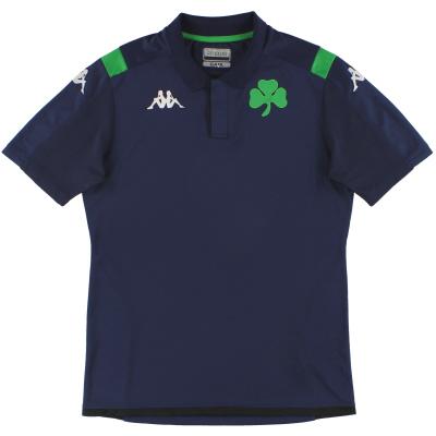 2019-20 Panathinaikos Kappa Polo Shirt *As New* XXL