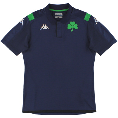 2019-20 Panathinaikos Kappa Polo Shirt L