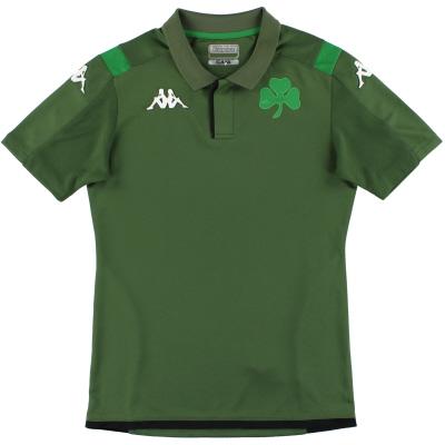 2019-20 Panathinaikos Kappa Polo Shirt S