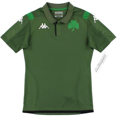 2019-20 Panathinaikos Kappa Polo Shirt *w/tags* XXL