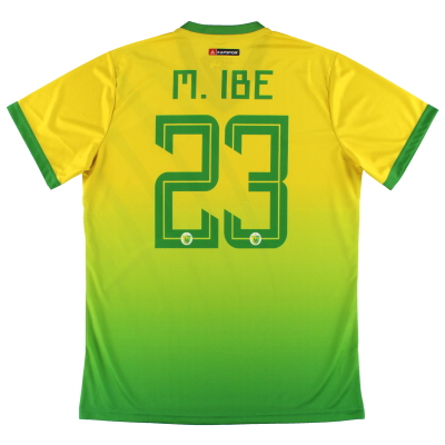 2019-20 Plateau United Kapspor Player Issue Home Shirt M.Ibe #23 *w/tags* L