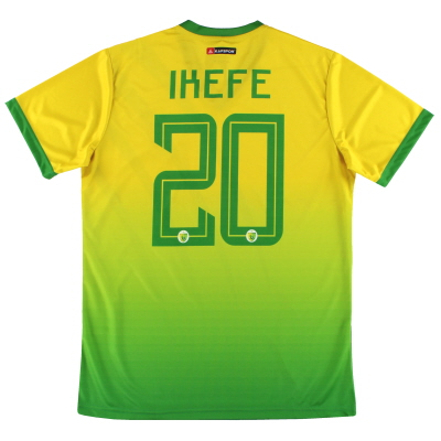 2019-20 Plateau United Kapspor Player Issue Home Shirt Ikefe #20 *w/tags* L