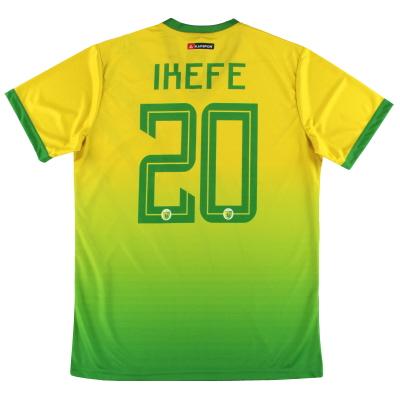 2019-20 Plateau United Kapspor Player Issue Home Shirt Ikefe #20 *w/tags* L