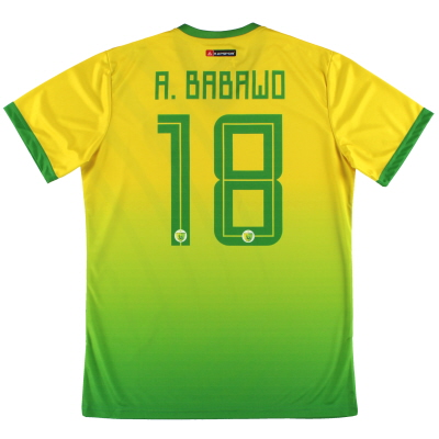 2019-20 Plateau United Kapspor Player Issue Home Shirt A.Babawo #18 *w/tags* L