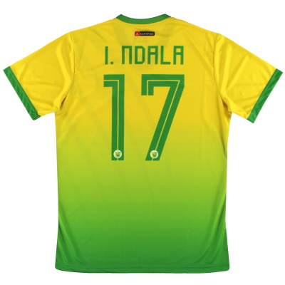 2019-20 Plateau United Kapspor Player Issue Home Shirt I.Ndala #17 *w/tags* L