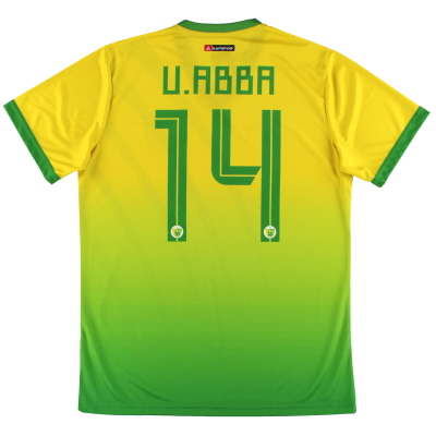 2019-20 Plateau United Kapspor Player Issue Home Shirt U.Abba #14 *w/tags* L