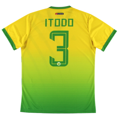 2019-20 Plateau United Kapspor Player Issue Home Shirt Itodo #3 *w/tags* L