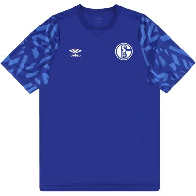 2019-20 Schalke Umbro Home Shirt *As New* L
