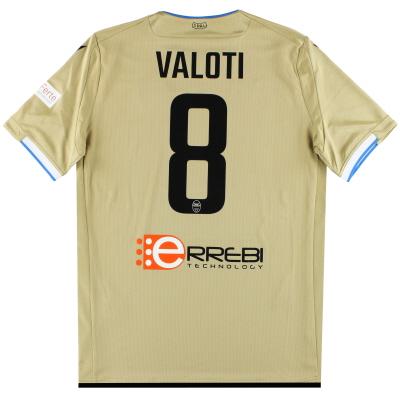 2019-20 SPAL Macron Away Shirt Valoti #8 *w/tags* XL