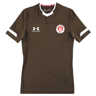2019-20 St Pauli Under Armour Player Issue Home Shirt *As New* S