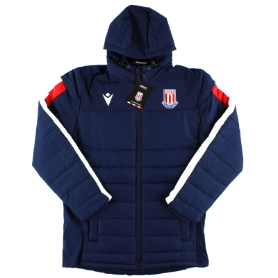 2019-20 Stoke City Macron Stadium Jacket *BNIB* S