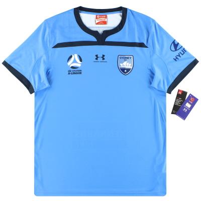 2019-20 Sydney FC Under Armour Home Shirt *w/tags*