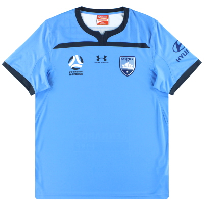 2019-20 Sydney FC Under Armour Home Shirt *As New* XL