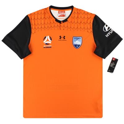 2019-20 Sydney FC Under Armour Orange Goalkeeper Shirt *w/tags* XL