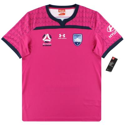 2019-20 Sydney FC Under Armour Pink Goalkeeper Shirt *w/tags* XL