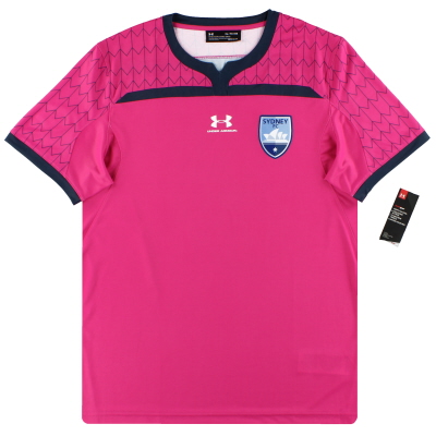2019-20 Sydney FC Under Armour Player Issue Pink Goalkeeper Shirt *w/tags* XL