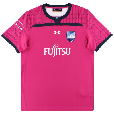 2019-20 Sydney FC Under Armour Pink Goalkeeper Shirt *As New* L