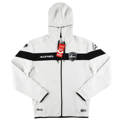 2019-20 Valenciennes Acerbis Light Grey Hoodie *BNIB*