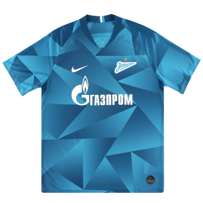2019-20 Zenit St. Petersburg Nike Home Shirt *As New*