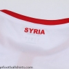 2019 Syria Away Shirt *As New*