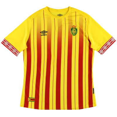 2019 Zimbabwe Umbro Limited Edition Home Shirt *As New*