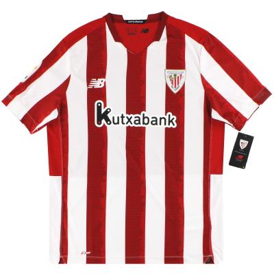 2020-21 Athletic Bilbao New Balance Home Shirt *w/tags*