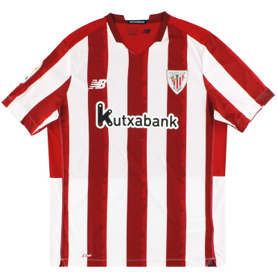2020-21 Athletic Bilbao New Balance Home Shirt *As New* L
