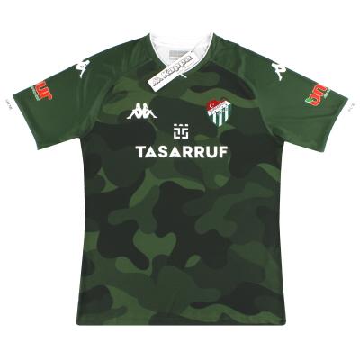 2020-21 Bursaspor Kappa Away Shirt *BNIB*