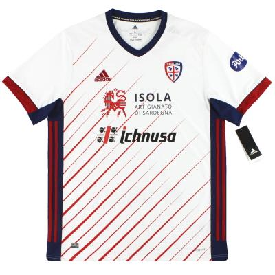 2020-21 Cagliari adidas Centenary Away Shirt *w/tags*